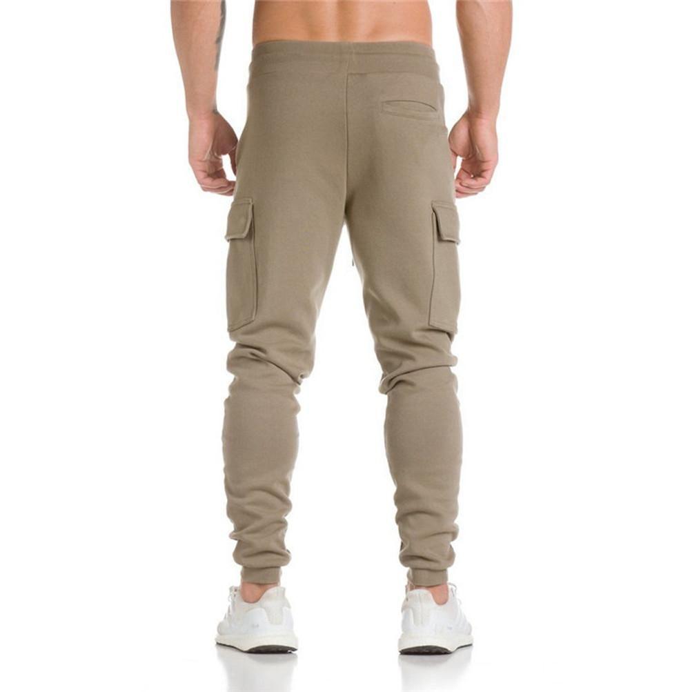 Mens Casual Jogger Camo Sportwear Baggy Harem Pants Slacks Trousers Sweatpants