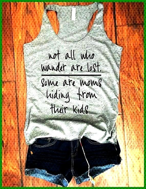 womens mom workout tank workout clothes mom life tank not all who wander are lost tanks mom She Squ