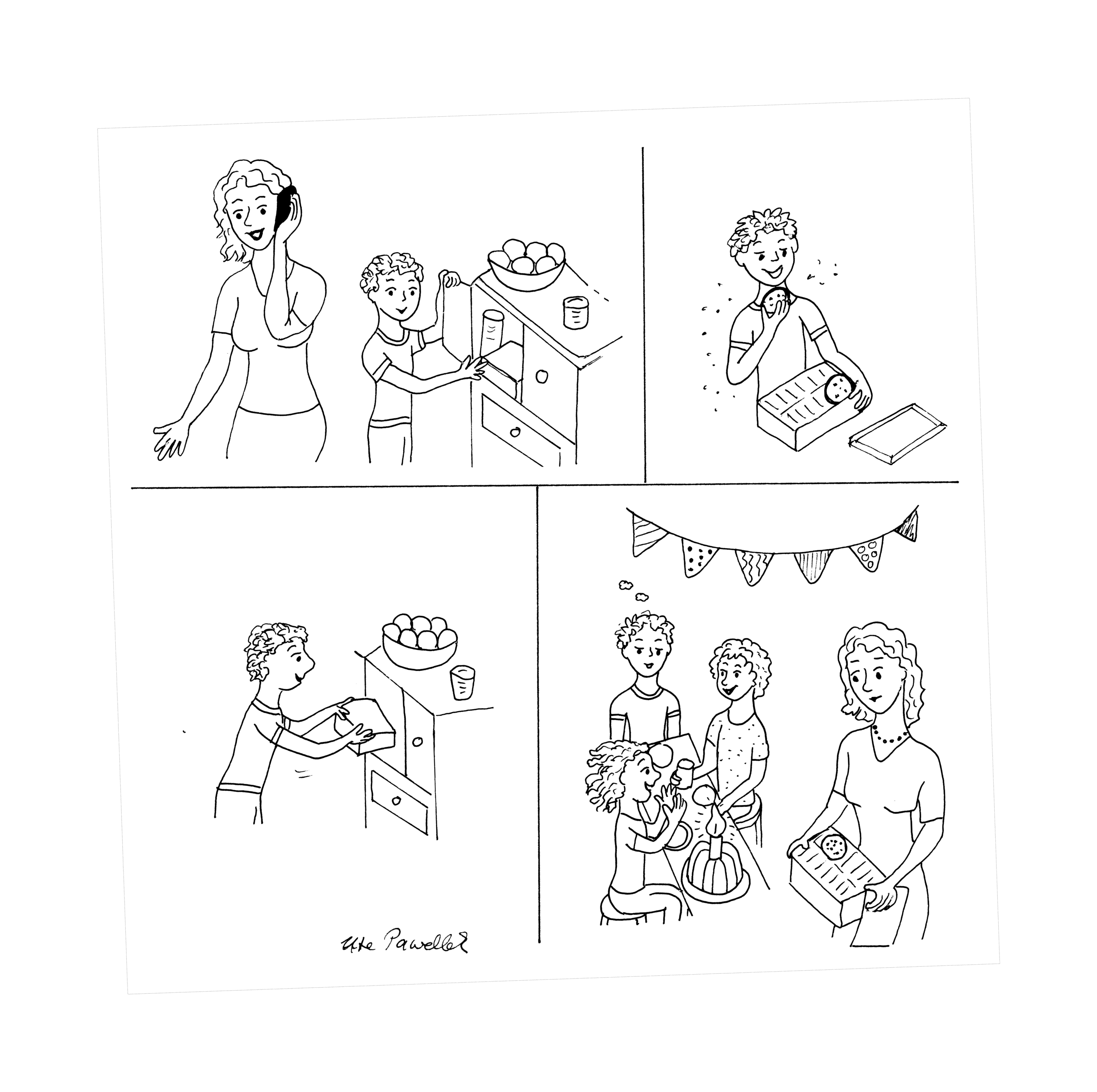 bildgeschichten zum ausdrucken | Bildergeschichte Aufgabe ...