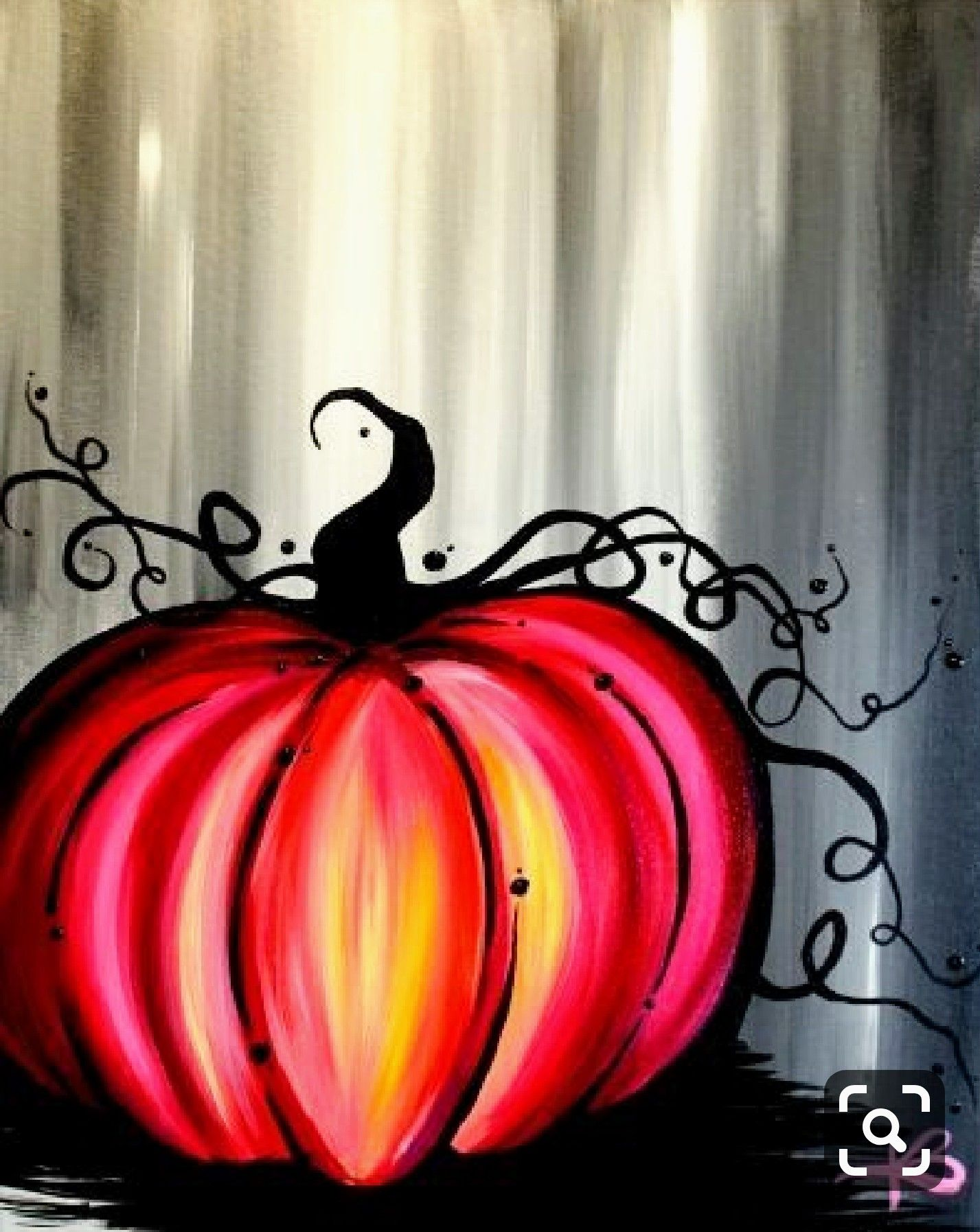 Pin By Aly Mourning On Art Halloween Painting Holiday Painting Art Painting