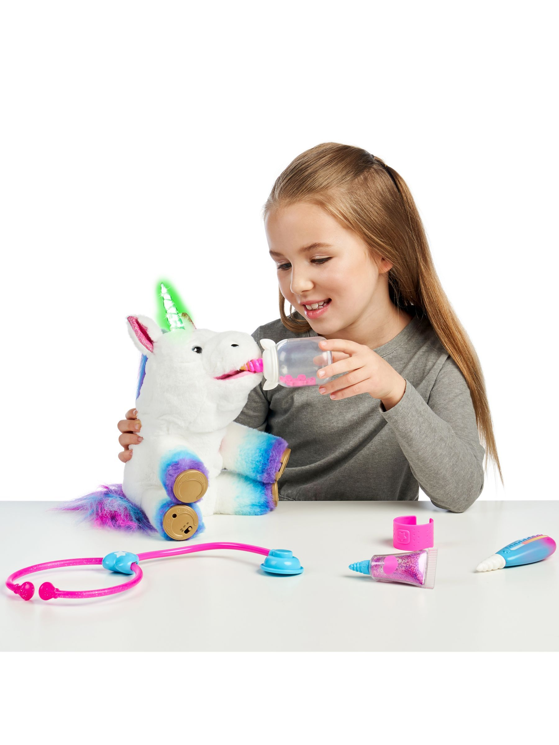 Little Live Pets Rainglow Unicorn Vet Kit Cool toys for