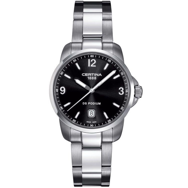 #Reloj #Certina Ds Podium C0014101105700. Visita nuestra #tienda #outlet para ver más modelos de nuestra campaña de promoción de #Certina http://www.entretiendas.com/Catalogo/campanha/103/Relojes_Certina_Promocion