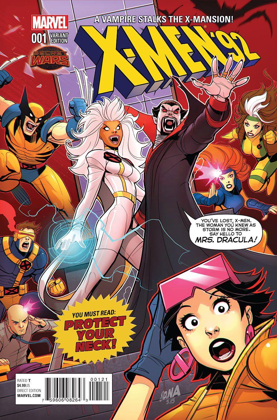 Preview X Men 92 1 Page 5 Of 9 X Men Marvel Comic Character Comics