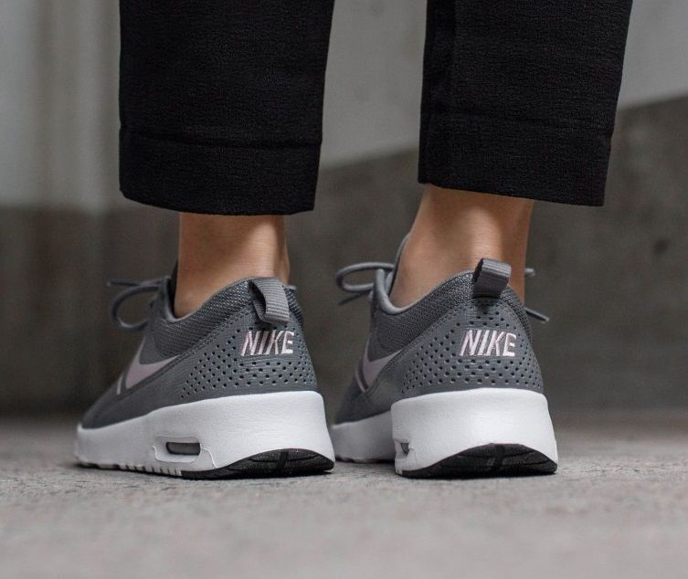0068423856b Nike Air Max Thea In Gunsmoke Particle Rose Black | nike-air-max ...