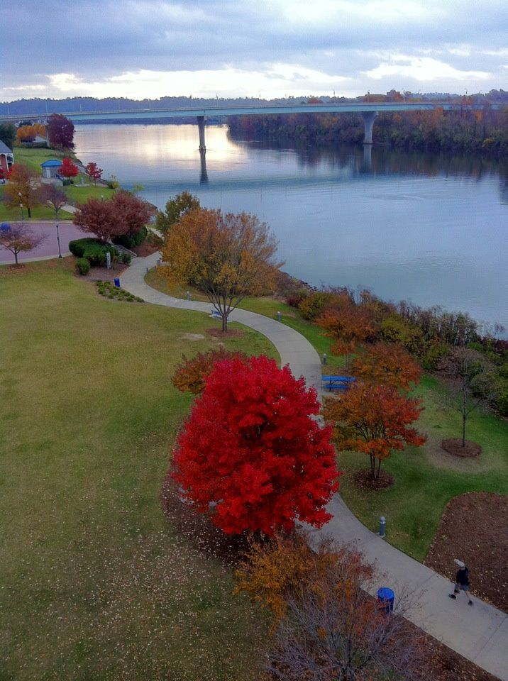 Coolidge Park In The Fall Chattanooga Tn Photo By