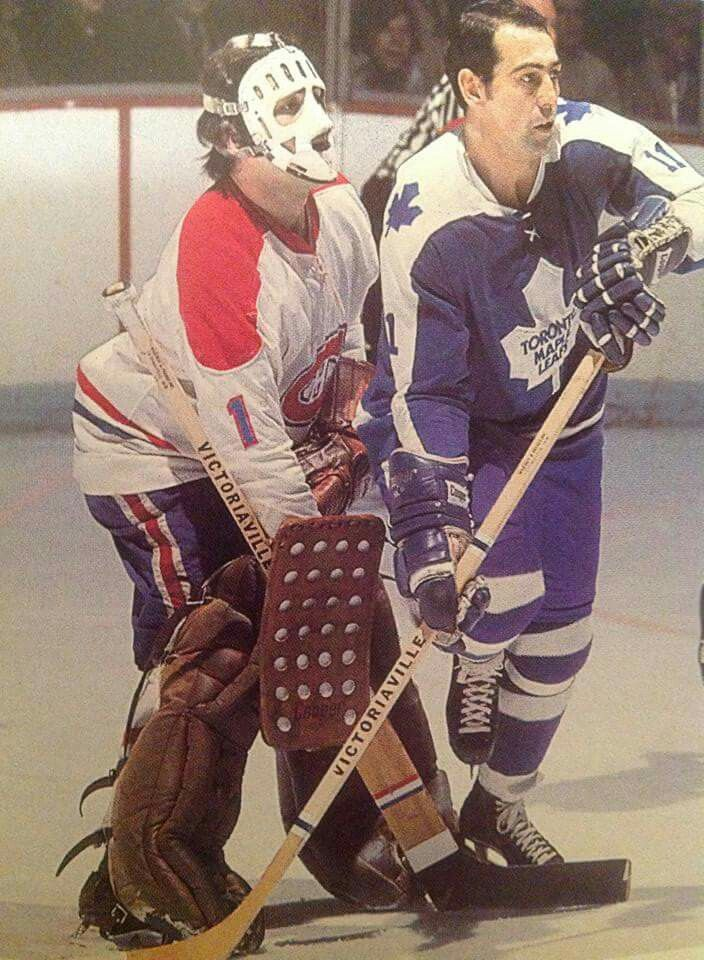 Vachon Toronto maple leafs hockey