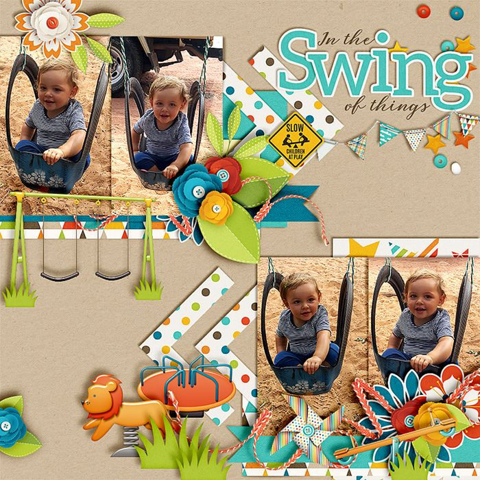 In the swing of things - Sweet Shoppe Gallery
