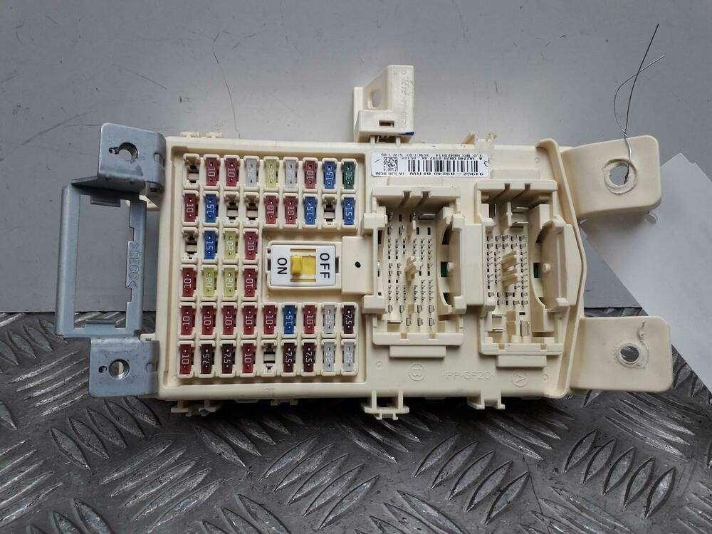Yamaha Yzf R6 Fuse Box