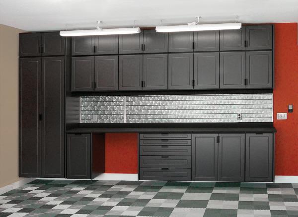 Design Garage Cabinets Kitchen Cabinets In Garage Garage Cabinets Garage Makeover