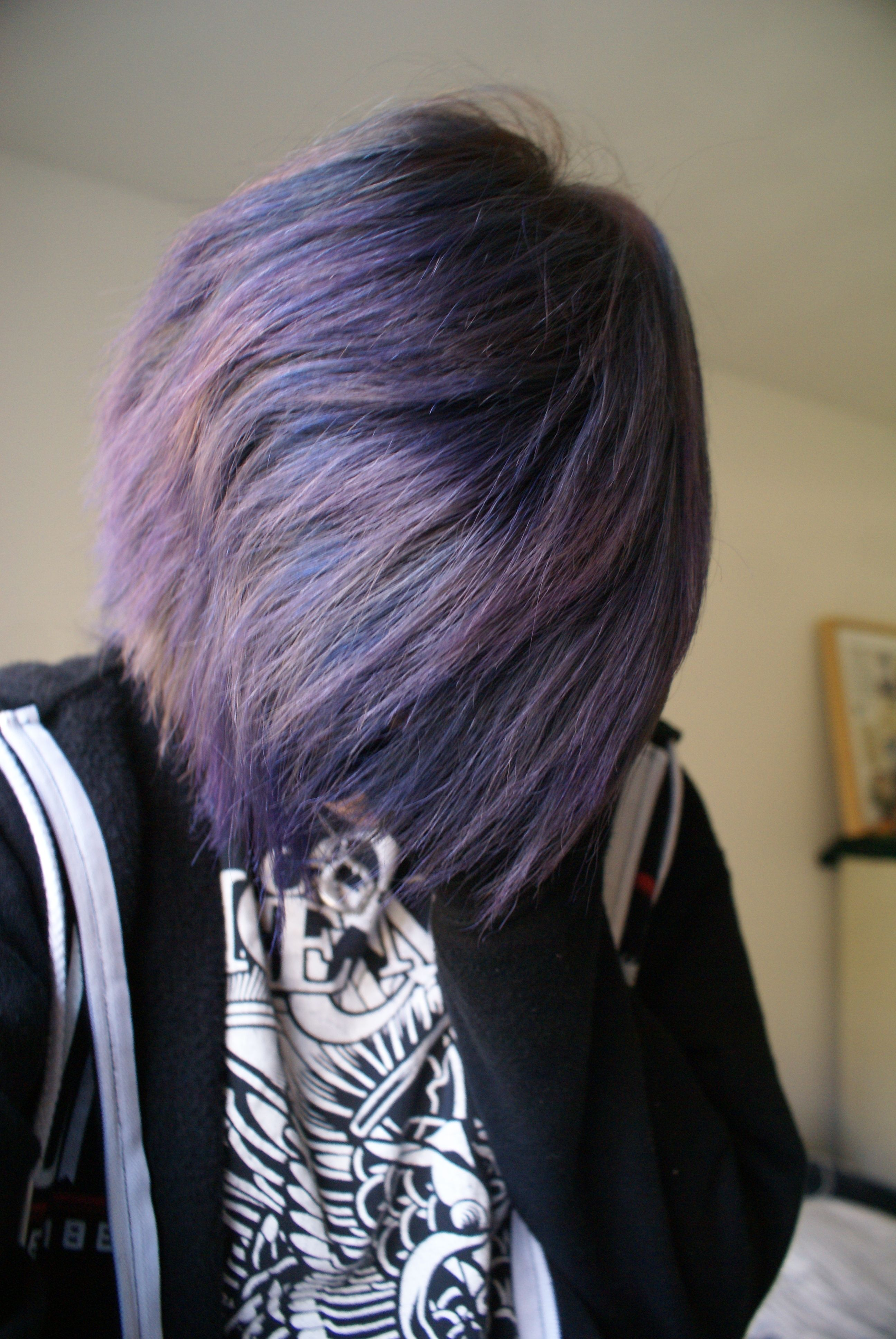 Purple hair dye boy pin by iliveunderyourbed on awesome hair  pinterest  hair hair