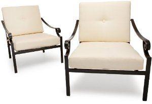 Strathwood Falkner Lounge Deep Seat Arm Chair, Set of 2 --- http://nuff.us/1dr