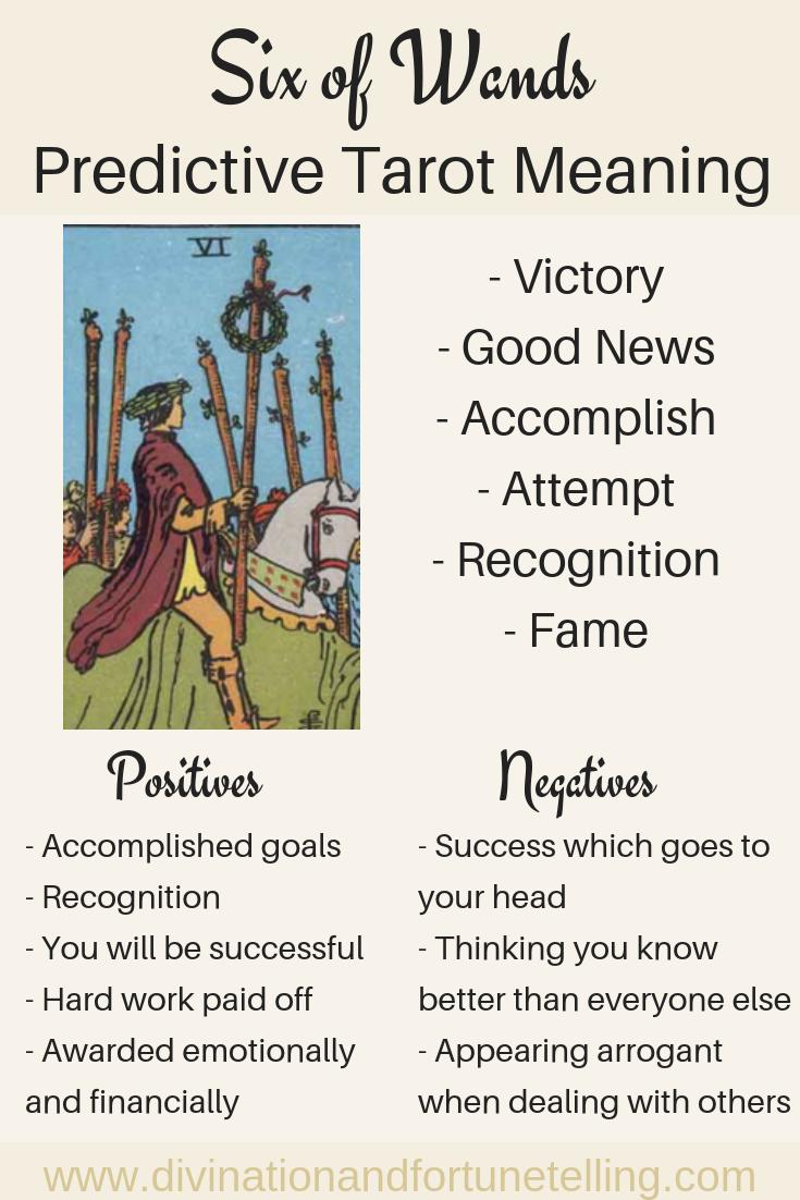Future Tarot Meanings Six Of Wands Lisa Boswell Tarot Meanings Tarot Learning Tarot
