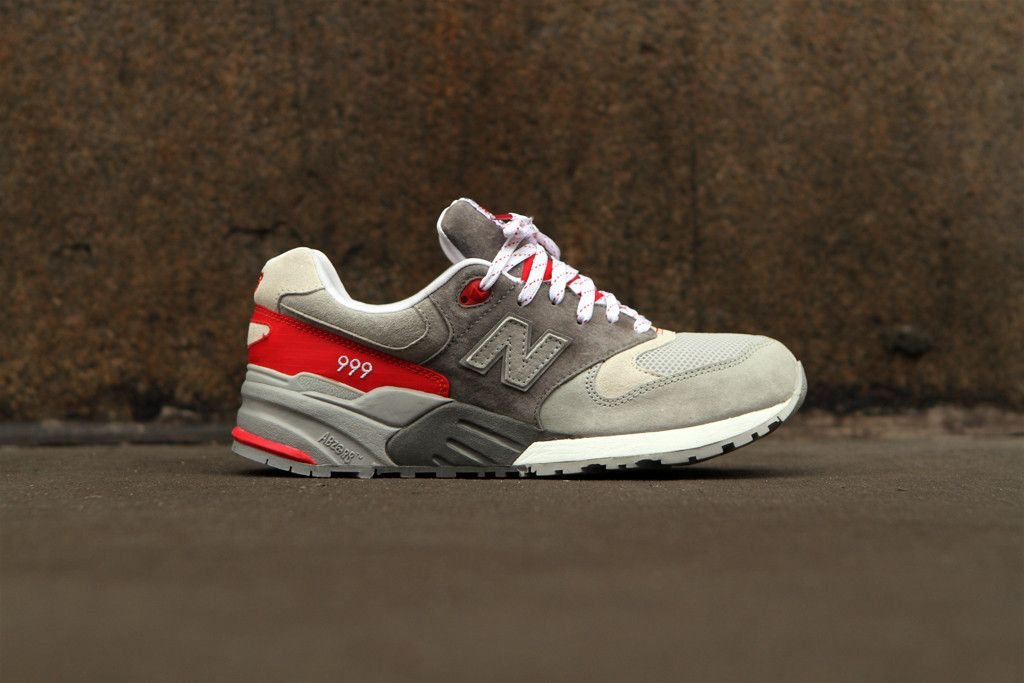 NEW BALANCE 999 - Red / Grey | Sneaker | Kith NYC