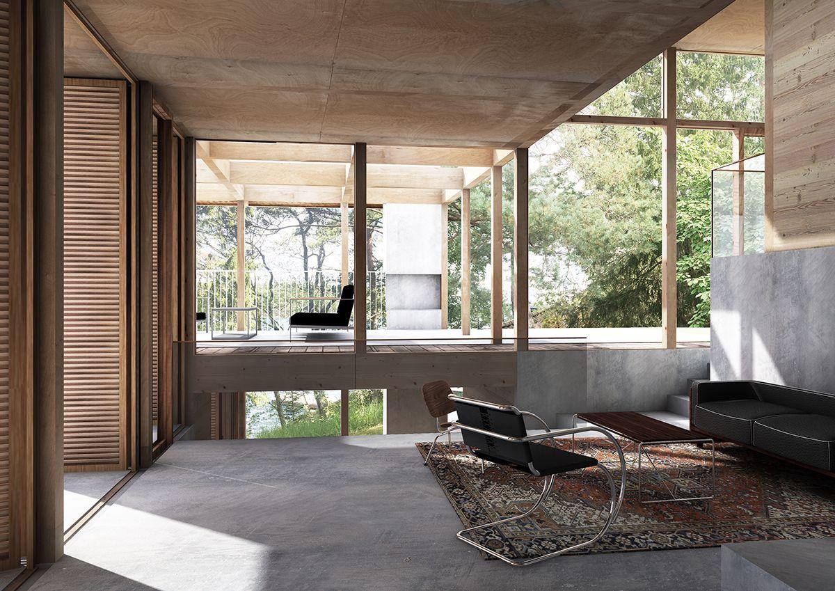 lowen widman arkitekter / hus saltaro, värmdö stockholms skärgård ...
