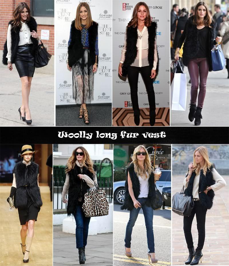 088b17fc6f0 v4 Celebrity Style Vintage Woolly Black Long Fur Vest in 2019
