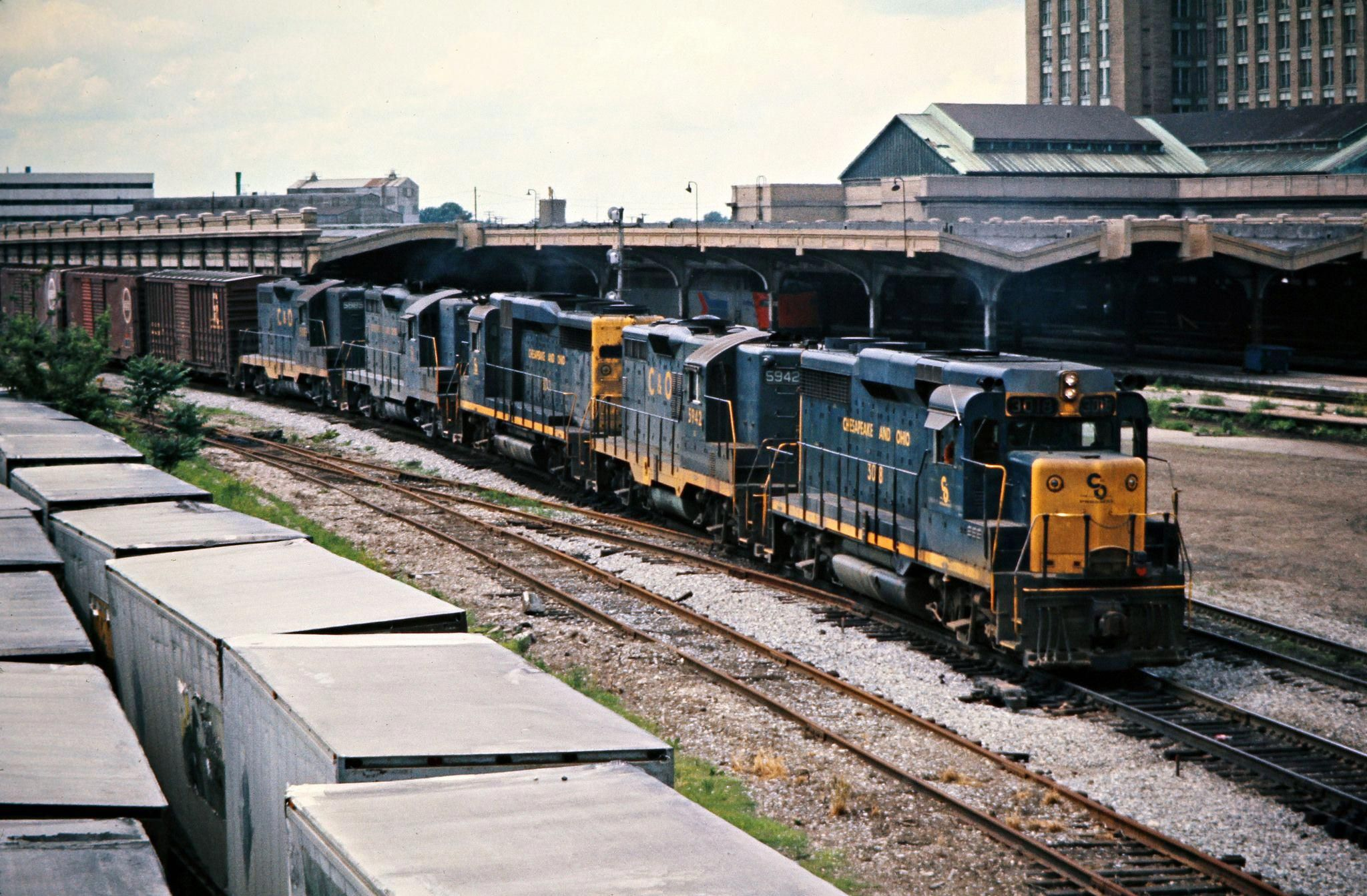 Co detroit michigan 1975 eastbound chesapeake and ohio