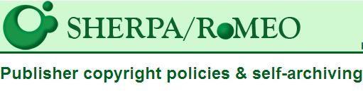 Registre de polítiques editorials sobre l'autoarxiu i la transferència dels drets d'autor