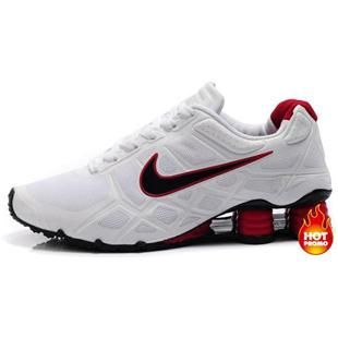 a1b201522b1466 Nike Shox -Turbo12 Men White Red