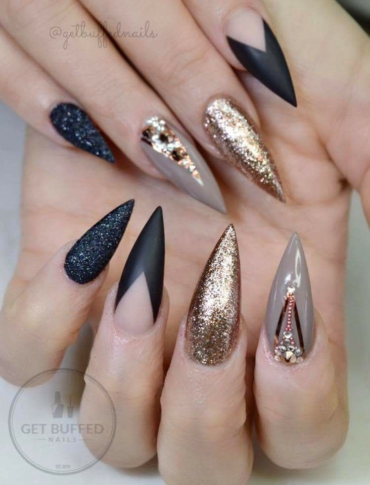 Pin by Anastasia C Designs on Nails | Pinterest | Nail nail ...