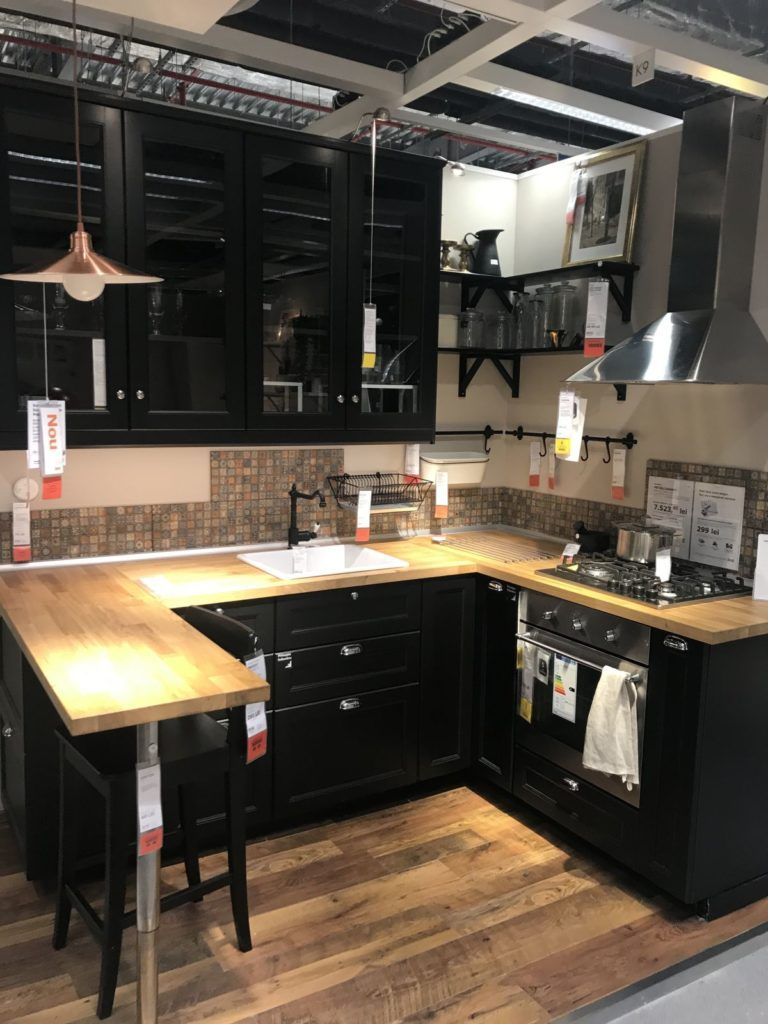 Create A Stylish Space Starting With An Ikea Kitchen Design Ikea Kitchen Design Kitchen Design Small Ikea Small Kitchen