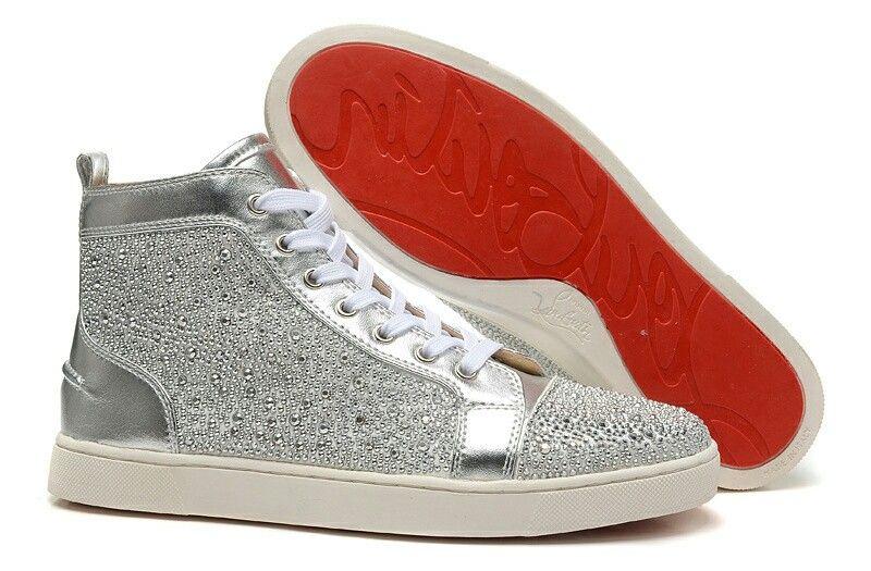 louboutin sneakers girl