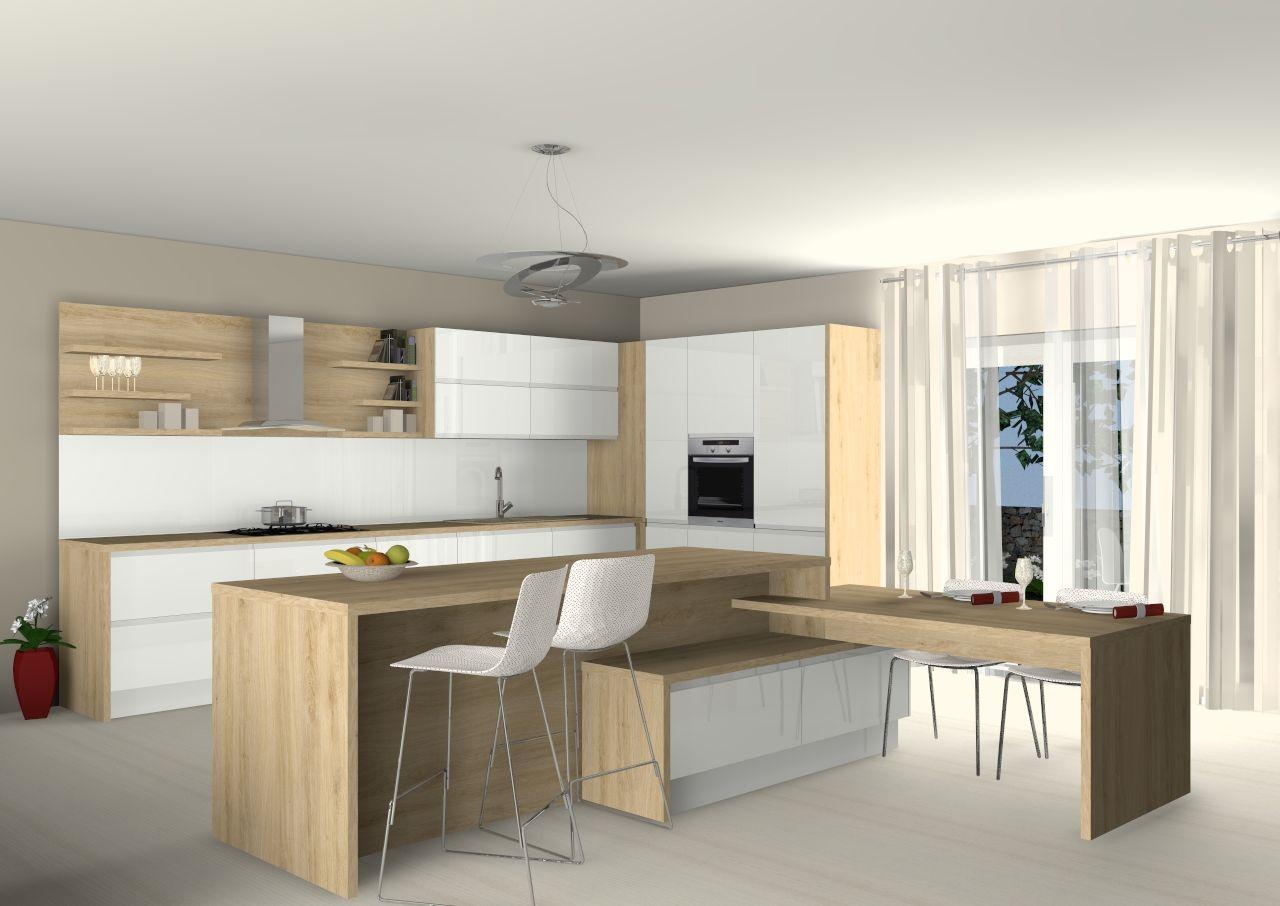 dizajn namjestaja moderna kuhinja po mjeri dalia otok sank ...