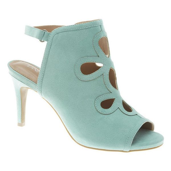 0b7a535b51029 Lane Bryant Plus Size Cut-out heel, Women's, Size: 9 W, Sweet Mint ($60) ❤  liked on Polyvore featuring shoes, plus size, sweet mint, lane bryant, sexy  wide ...