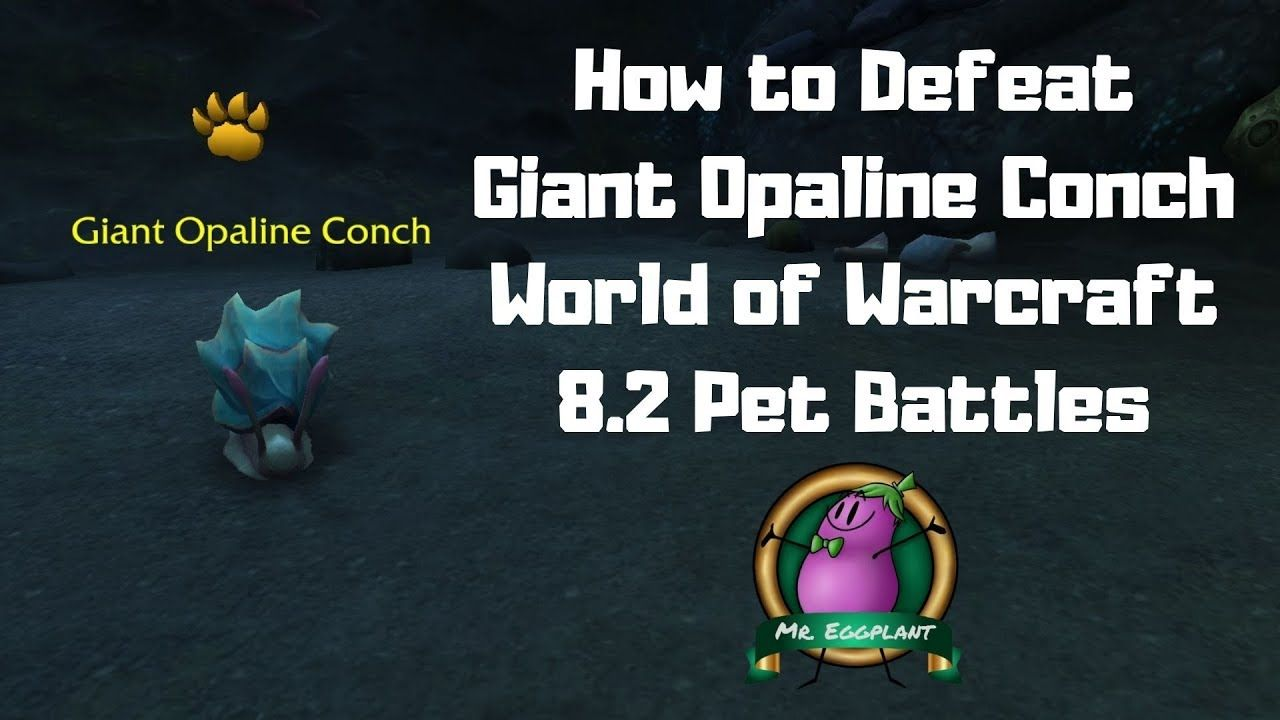 How To Defeat Giant Opaline Conch 8 2 Pet Battles World Of