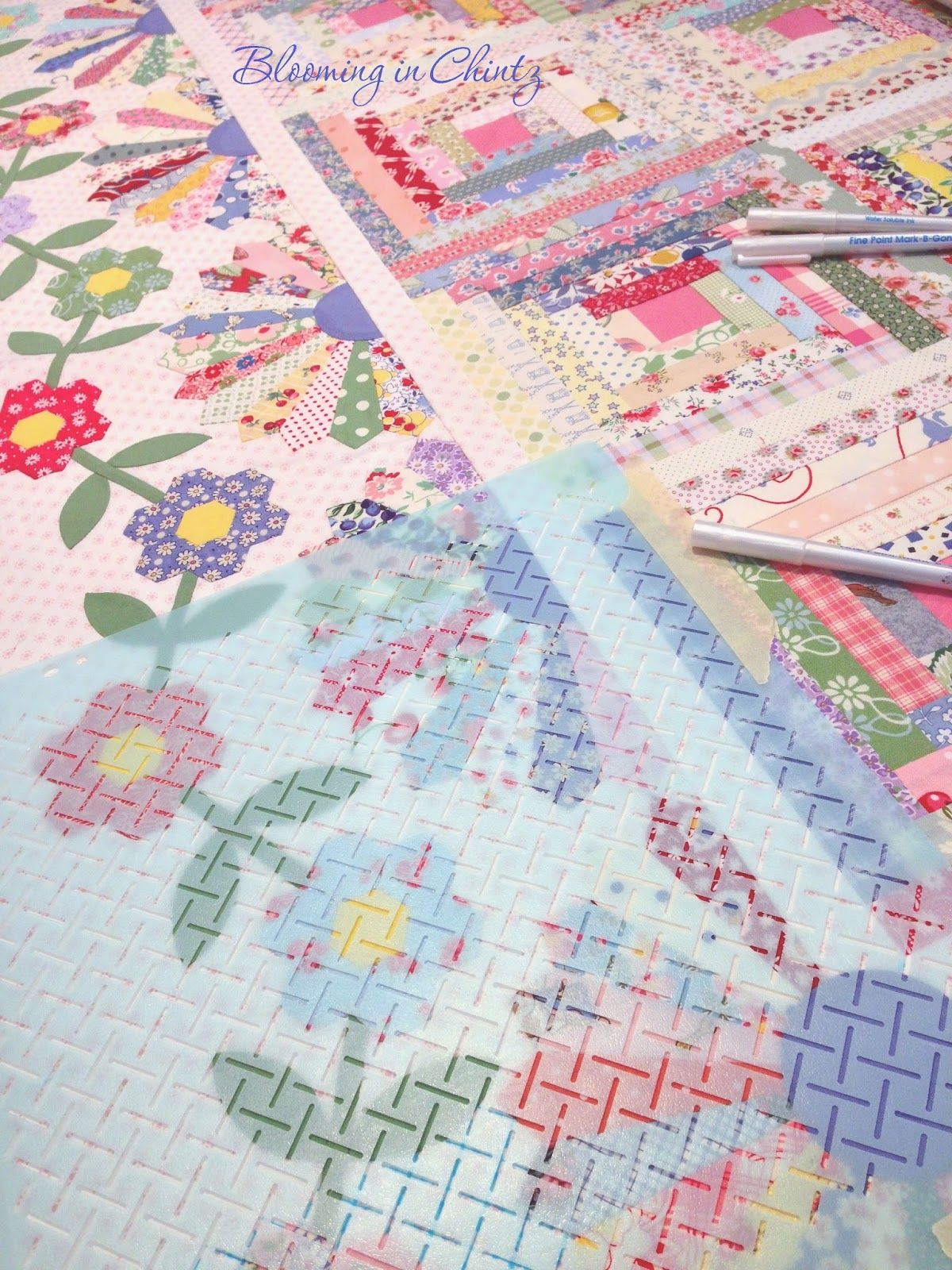 quilt by rahna summerlin www bloominginchintz com clever