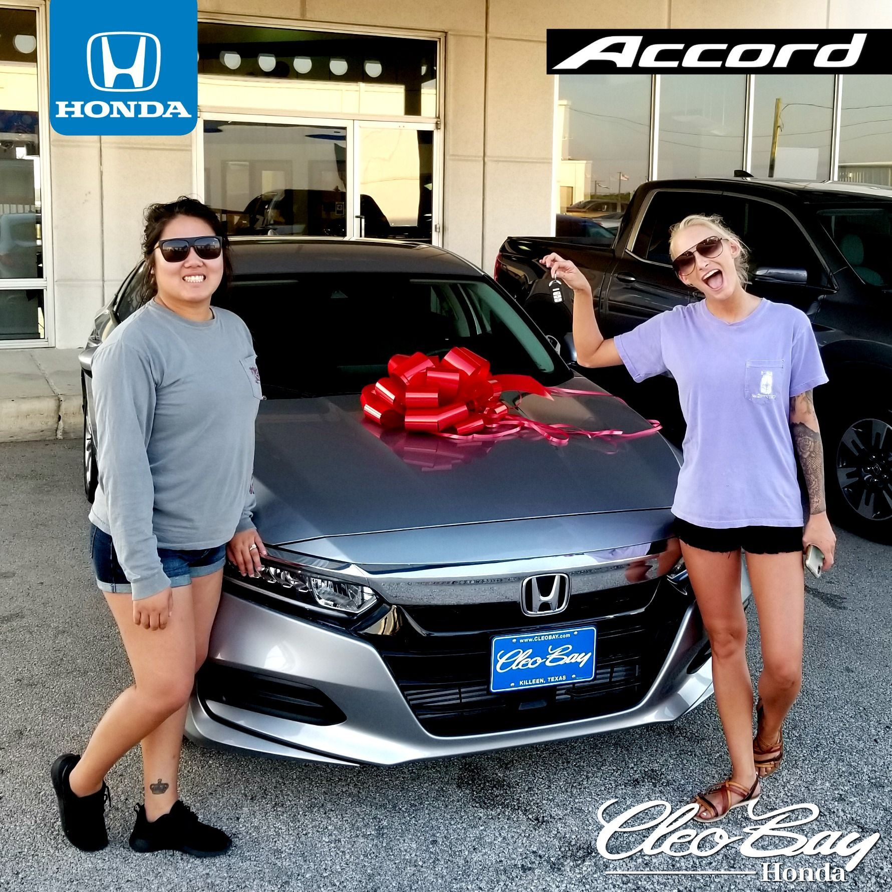 Cleo Bay Honda >> Congratulations Ivie On Your Recent Purchase Of New 2019