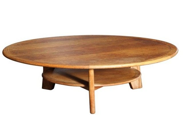 round oak coffee table with three legs | wood stuff | pinterest