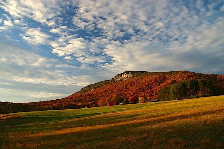 Cooks wall on sauratown mountain stokes county north