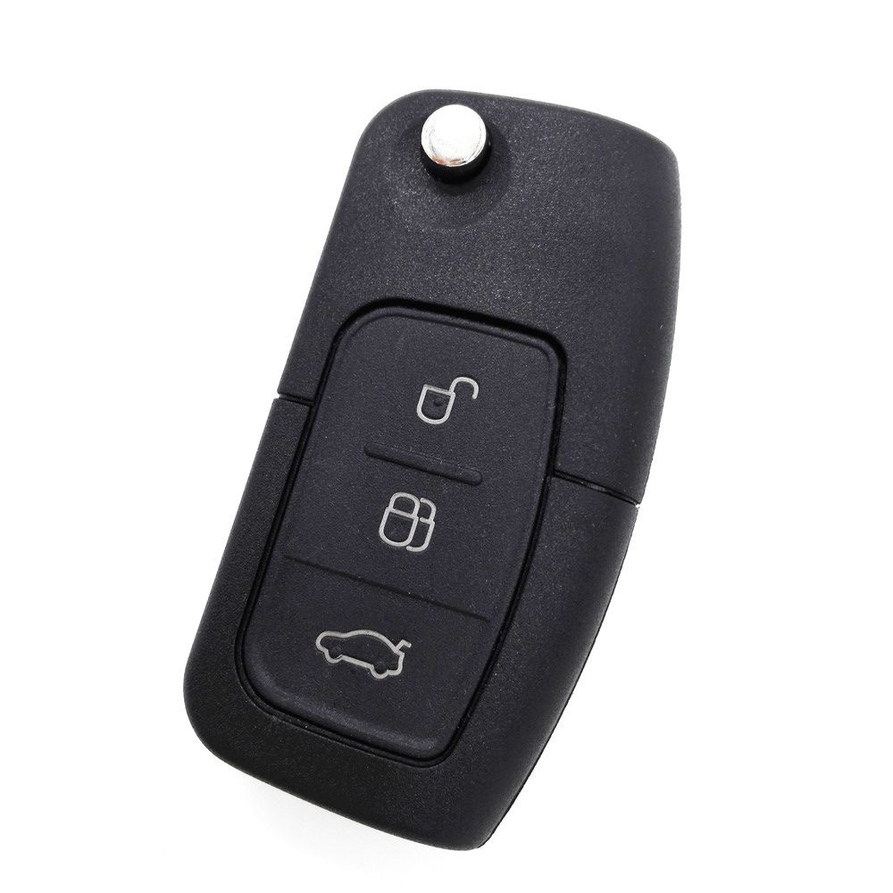 3 Button Flip Folding Remote Key Fob Case For Ford Focus Fiesta C Max Car Key Shell With Logo Car Max Ford Focus Fobs