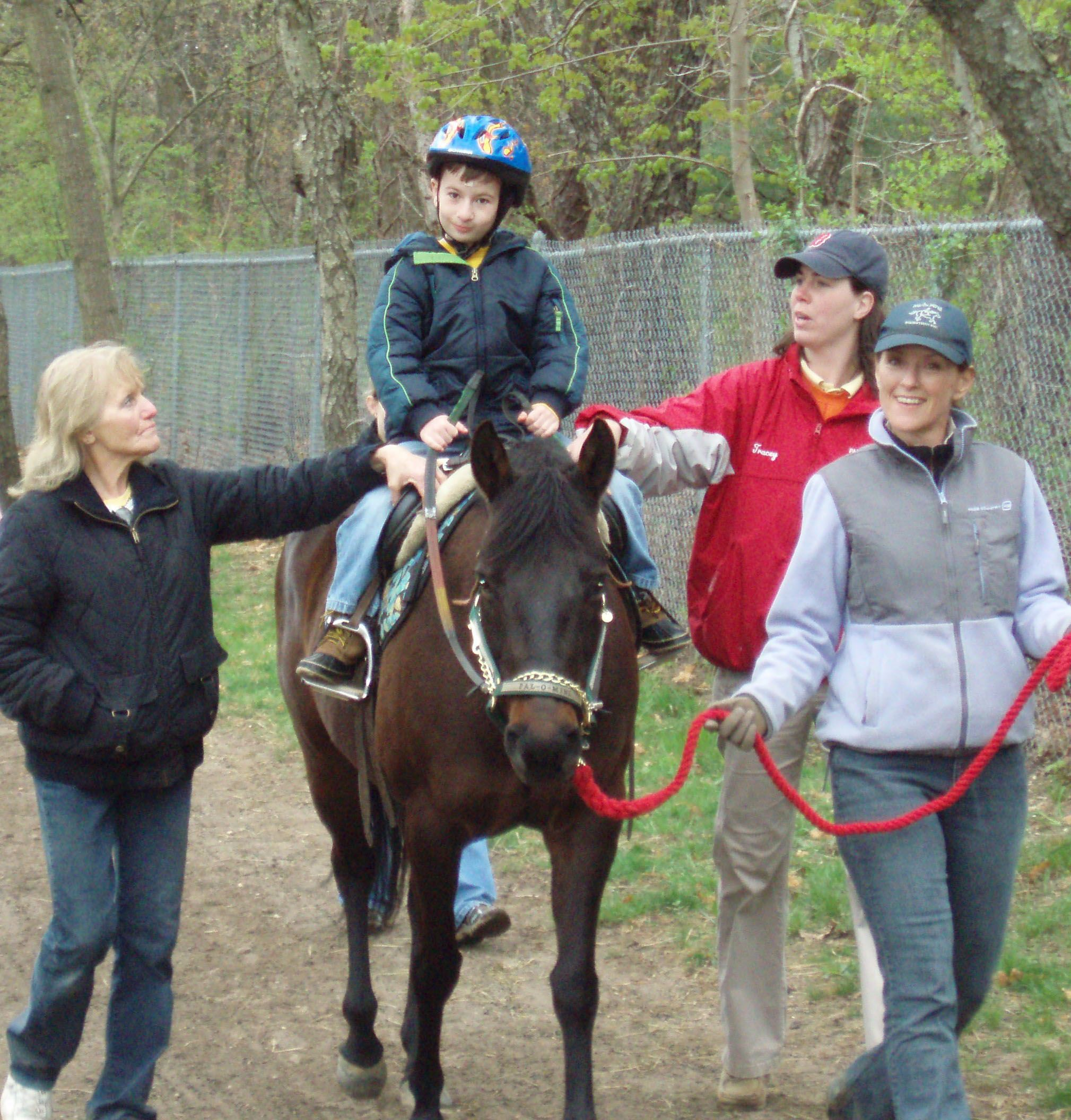 Therapeutic Horseback Riding Great Article That States