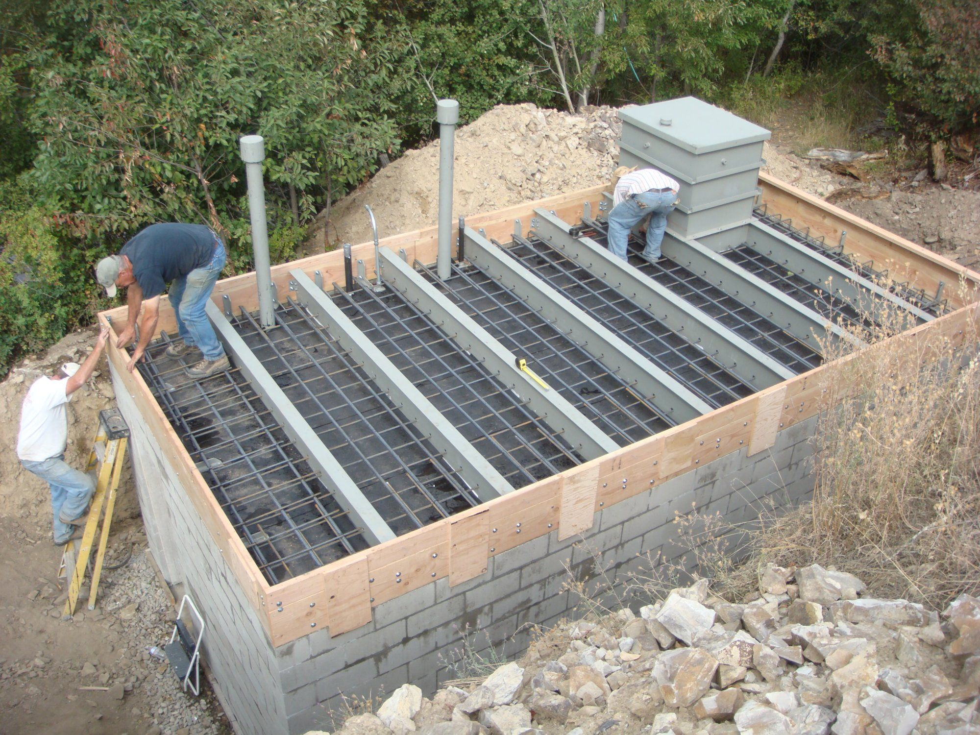 cement block safe room | homestead | pinterest | underground shelter