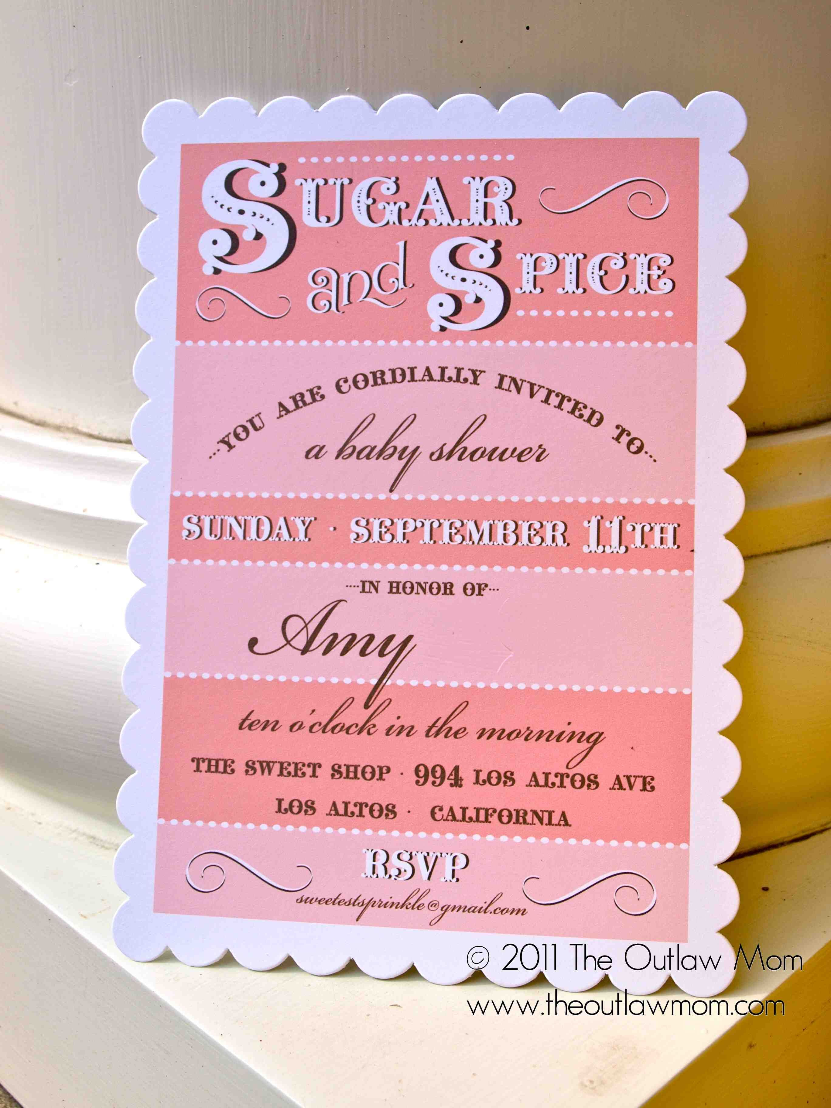 High Quality Sugar And Spice Baby Shower, This Event Is AWESOME!
