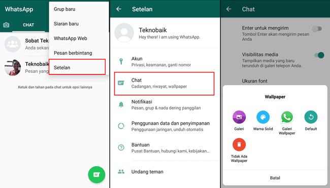 2 Cara Mengganti Background Whatsapp Tanpa Aplikasi Tambahan 10 Tips Dan Trik Tersembunyi Di Whatsapp Tekno Liputan6 Com Cara Membua Di 2020 Aplikasi Tulisan Pesan