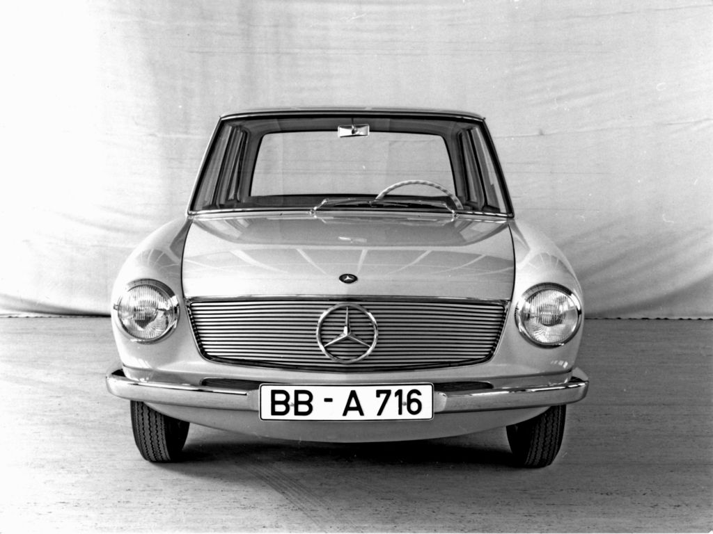 1960 Mercedes Benz W118 W119 Prototype With Images Mercedes