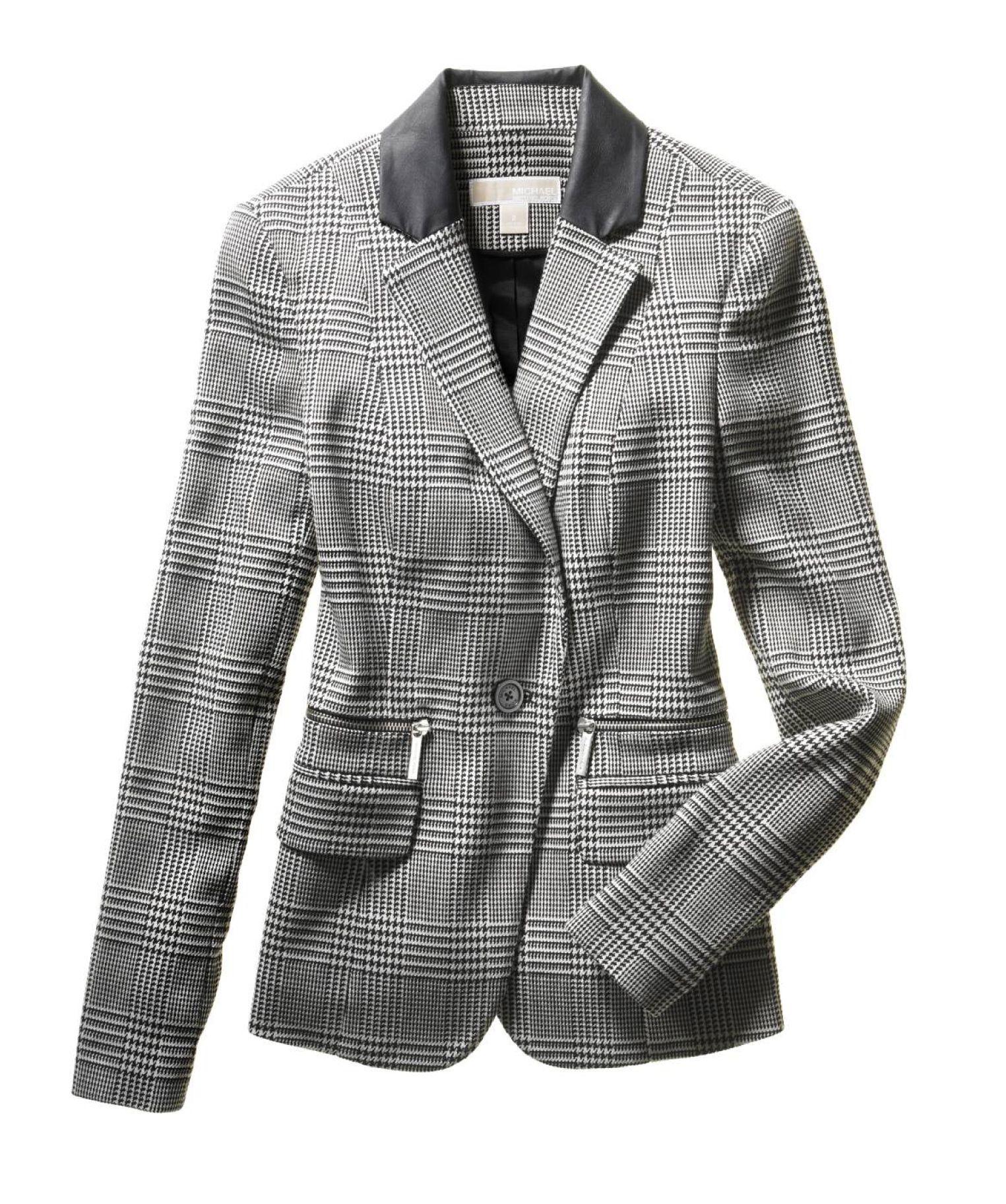 Pin & Win! Smart investment. #MichaelKors #jacket #plaid #hotlist #macysfallstyle BUY NOW!