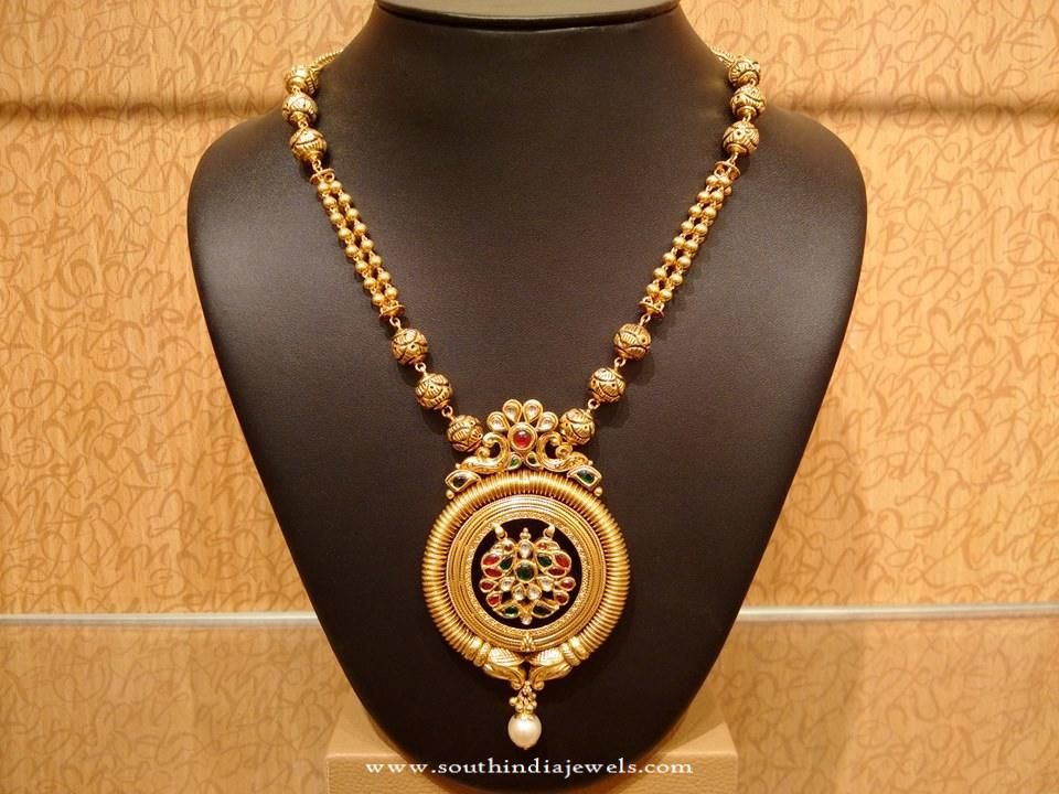 Light weight gold antique necklace design antique necklace light weight gold antique necklace design aloadofball Gallery