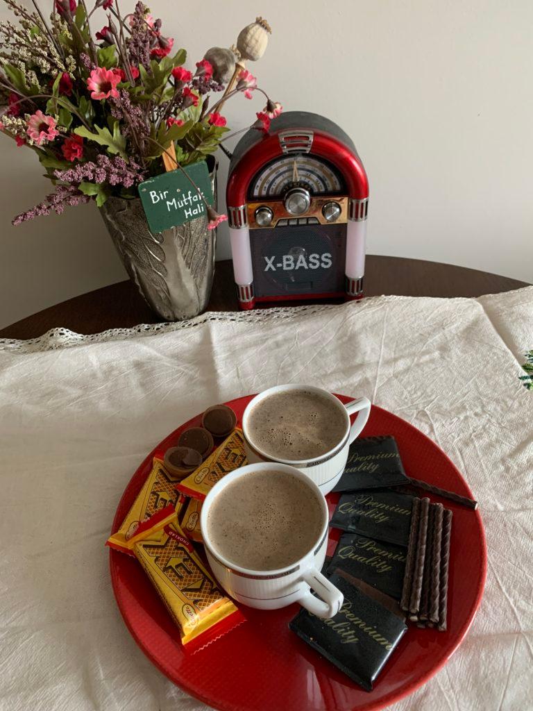 Sutlu Kahve Bir Mutfak Hali 2020 Kahve Fincan Hali
