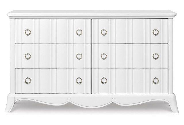 Claire's bdrm   Amalia Drawer Dresser $979 59wx18dx34h www.onekingslane.com