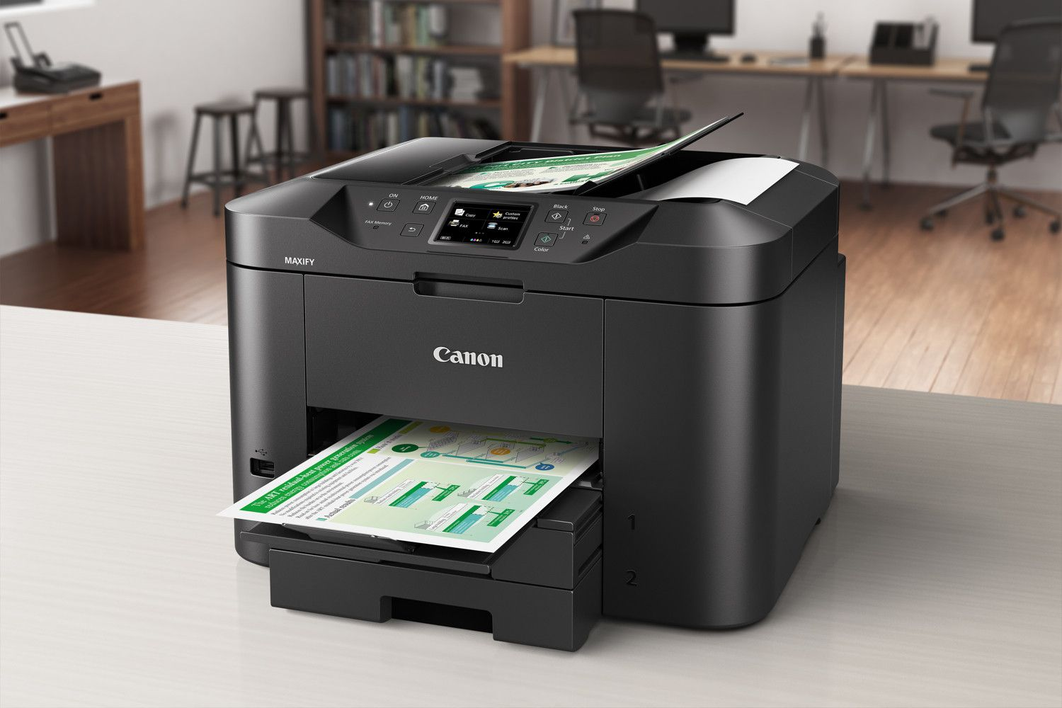 Print Directly From Social Media With Canon S Maxify Printers