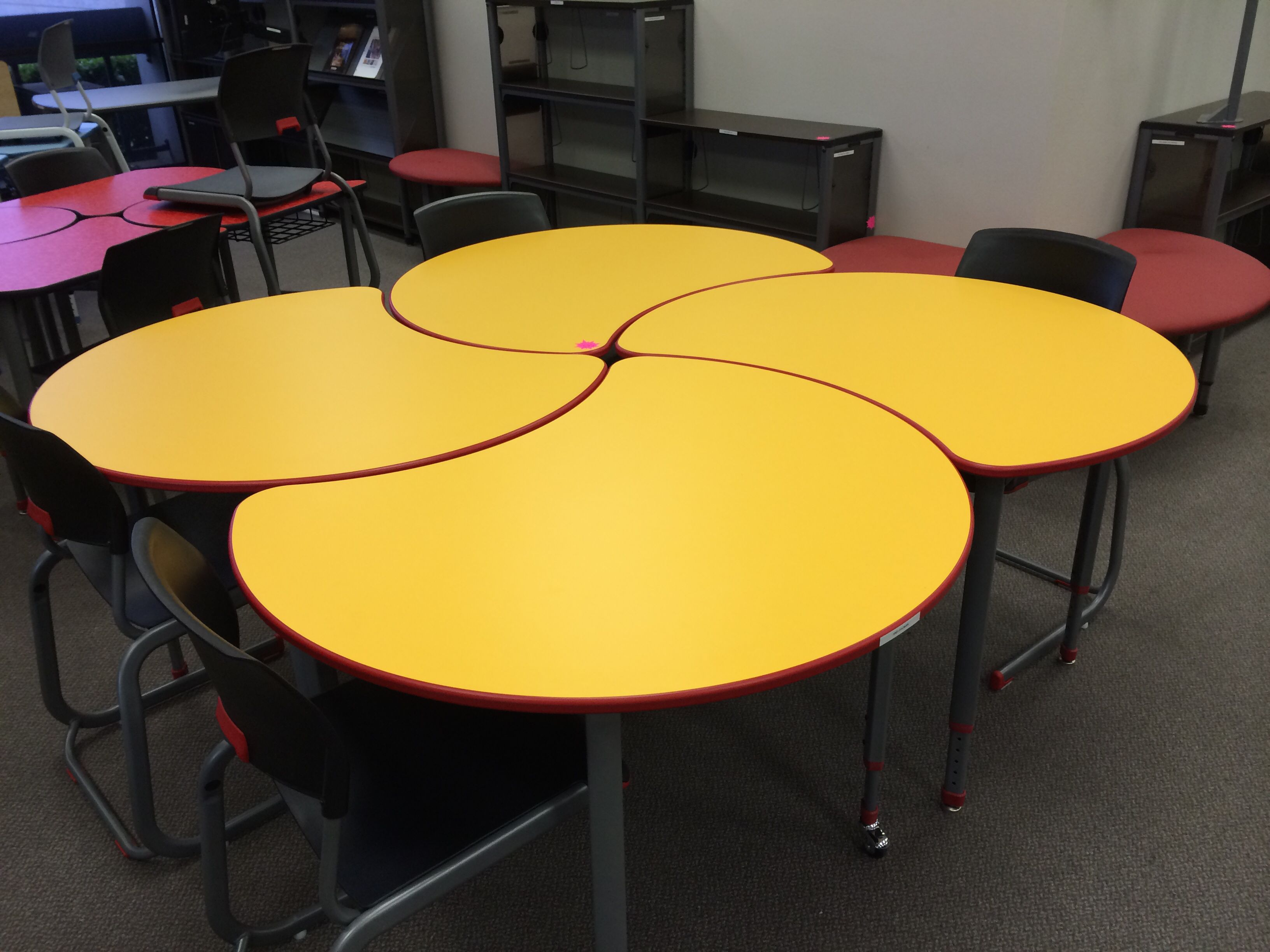 PAC man configuration from Paragon School Furniture