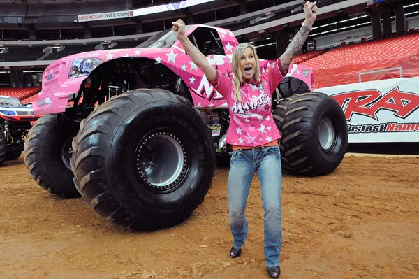 Madusa Monster Truck Driver Creative Loafing Atlanta Monster Trucks Monster Truck Jam Ford Trucks