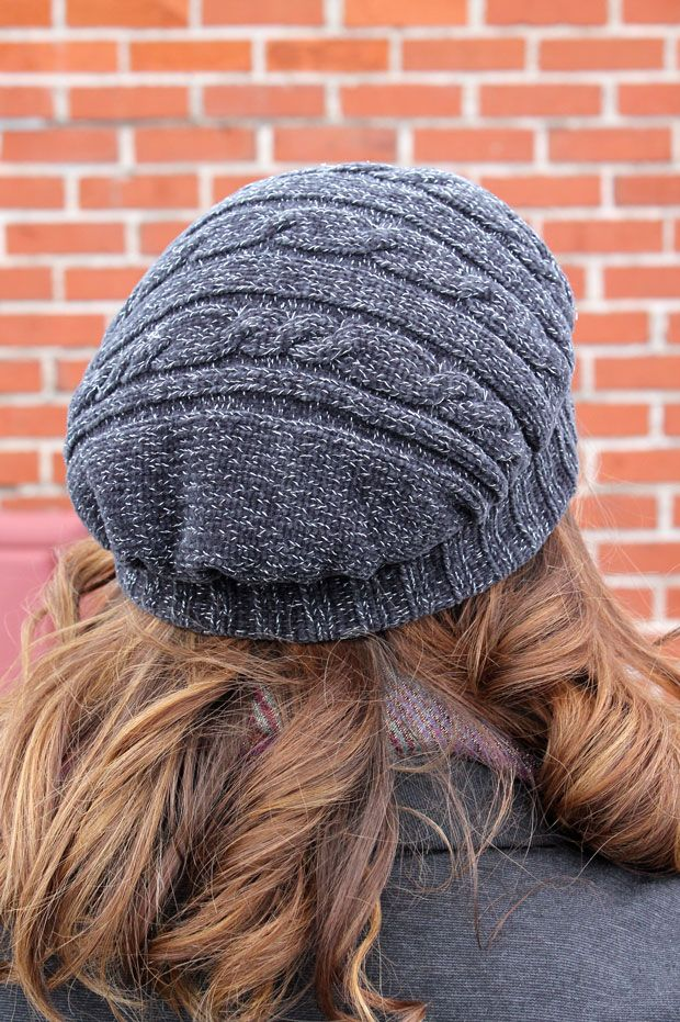 03c56015 DIY: Upcycled Sweater Beret   UPCYCLE2 ACCESORIES IDEAS   Diy scarf ...