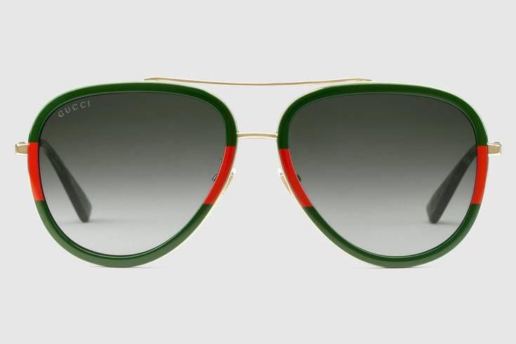 059bce0fc4b Gucci - GG0062S Endura Gold Green-Red Sunglasses