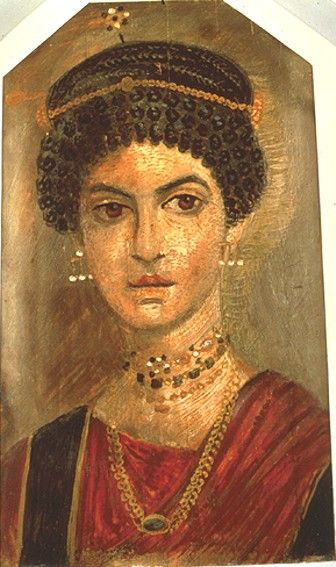 Portrait of a young woman, 110 AD