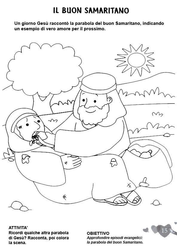 Il buon samaritano religione - Artigianato per cristiani ...