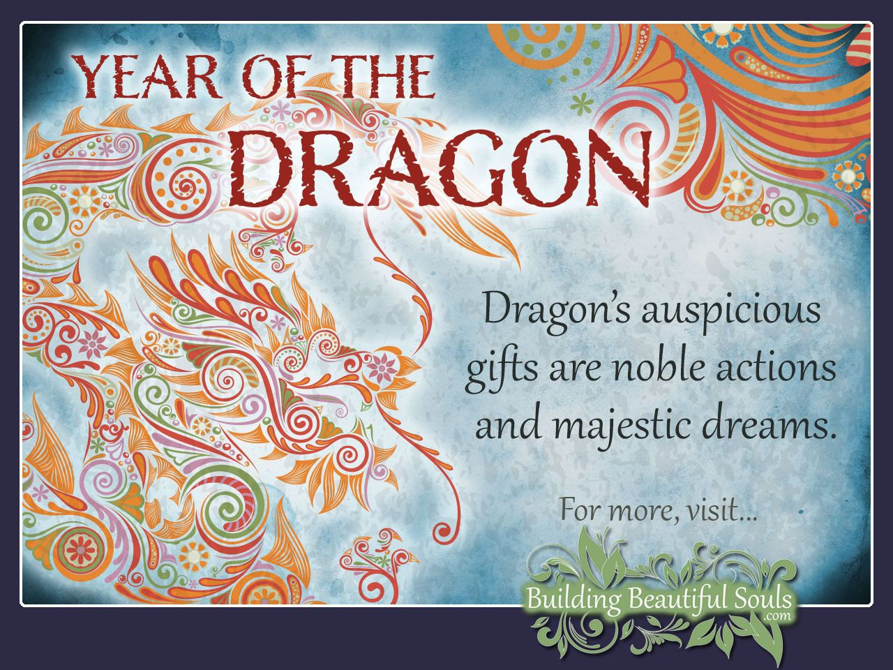 Year of the Dragon Chinese Zodiac Dragon Meanings